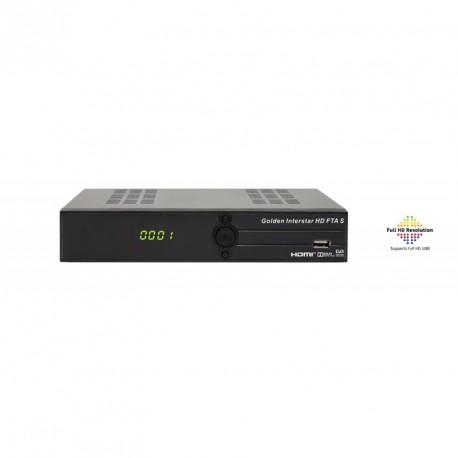 GOLDEN INTERSTAR HD FTA S - FULL HD DVB-S2